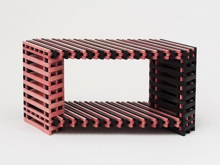 集艺术、工艺与实用于一体的变形椅子